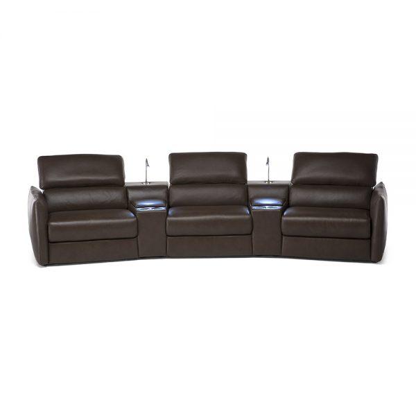 Natuzzi Editons Meraviglia 3str Recliner Sofa