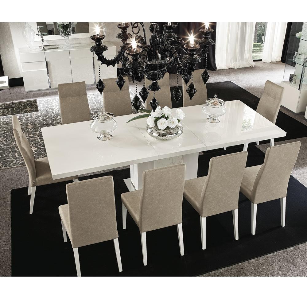 Abitare Uk Alf Italia Canova Extending Dining Table