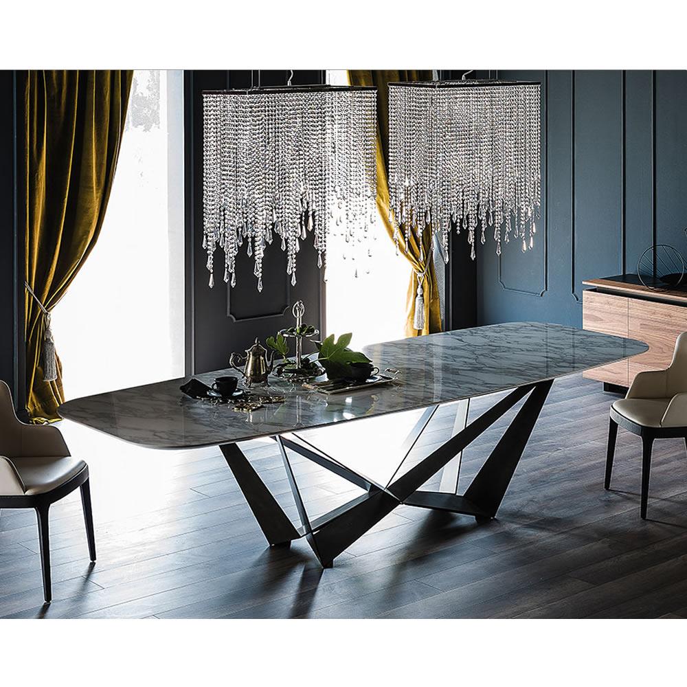 Cattelan Italia Premier Skorpio Keramik Dining Table Abitare Uk - The-cattelan-italias-spiral-was-designed-by-ca-nova-design