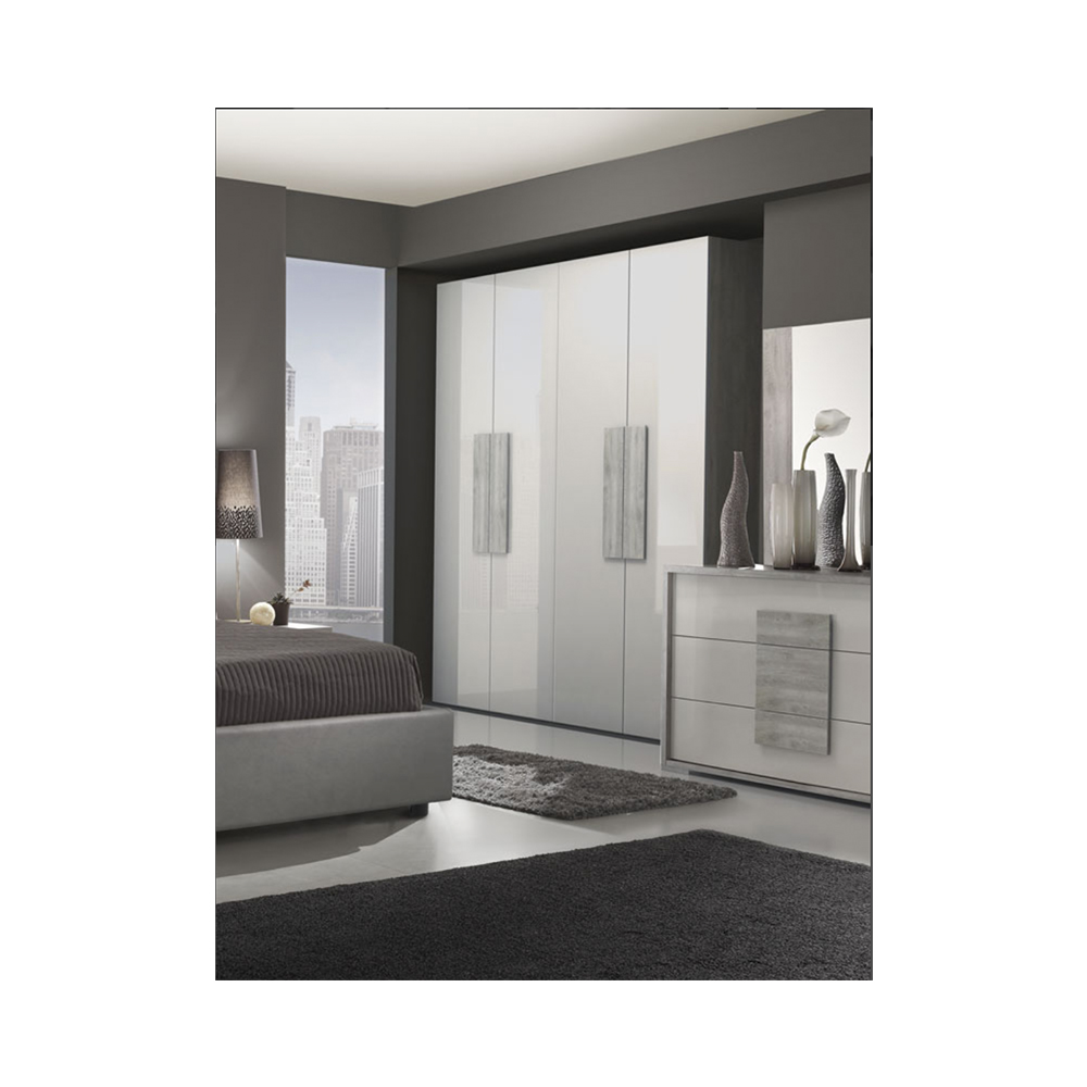 Castello 4 Door Wardrobe Abitare Uk
