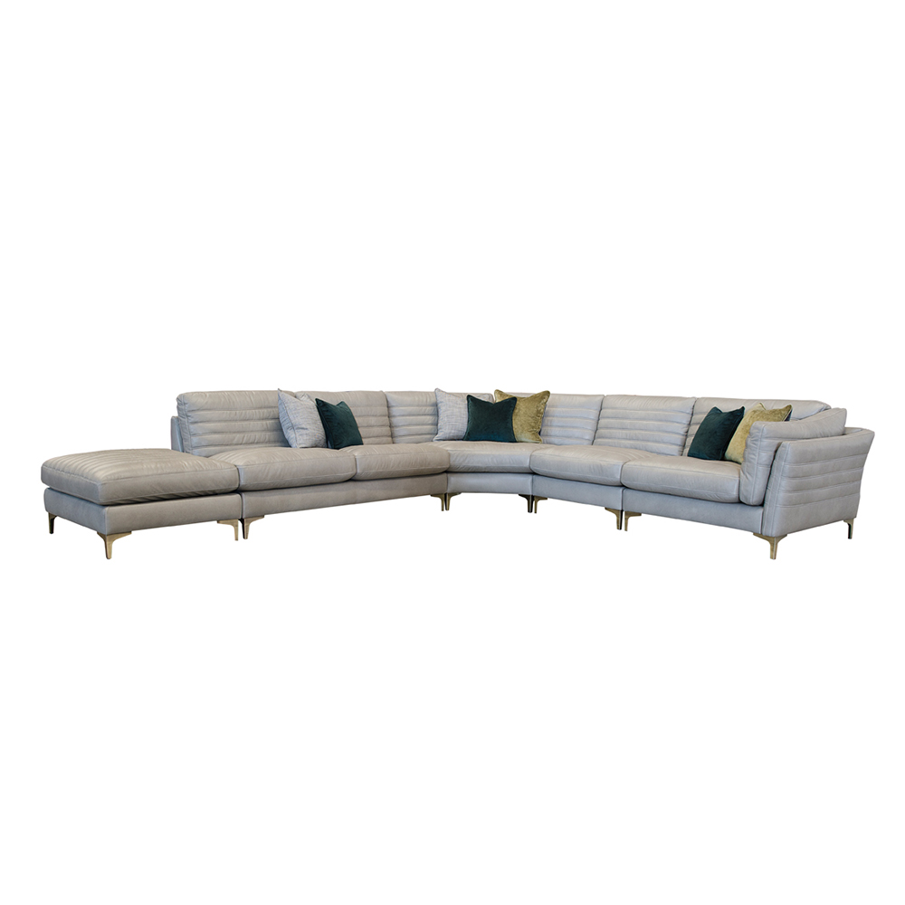 Alexander and James Groove Groove 5pc Open Corner Group ...