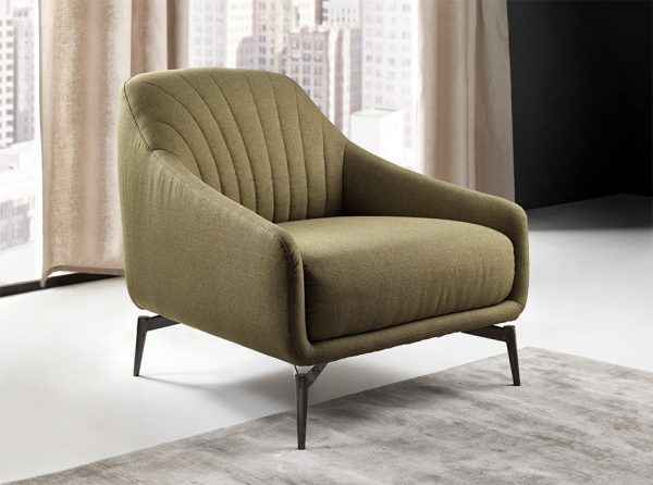 01 Felicita C014 Lounge Accent Chair By Natuzzi Editions