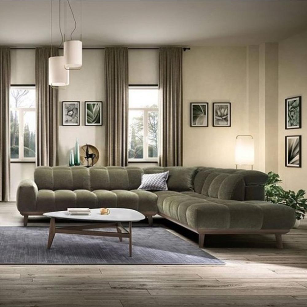Natuzzi Editions Autentico Corner Sofa