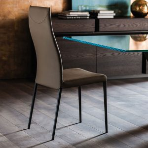 Cattelan Italia Anna High Back Dining Chair
