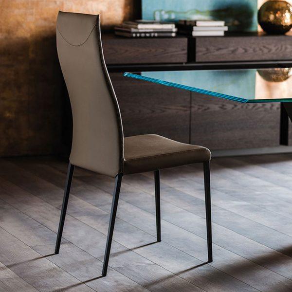 Cattelan Italia Anna High Back Dining Chair
