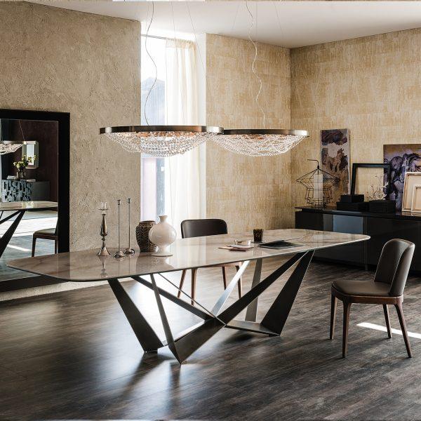 Cattelan Italia Skorpio Keramik Dining Table