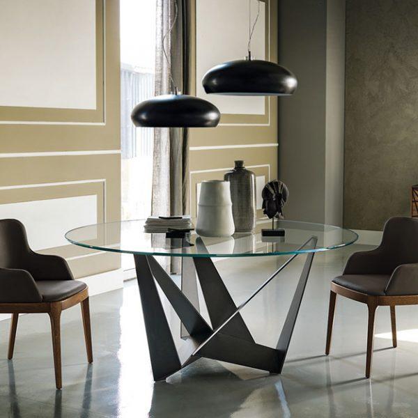 Cattelan Italia Skorpio Round Dining Table