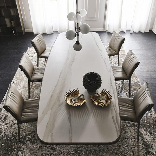 Cattelan Italia Stratos Keramik Dining Table
