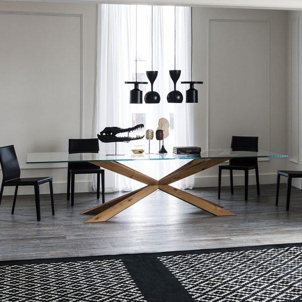 Cattelan Italia Spyder Dining Table