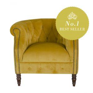 Jude Fabric Chair. 1