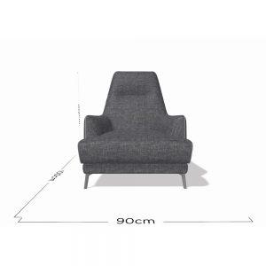Natuzzi Italia Clearance Leyra Chair 3003