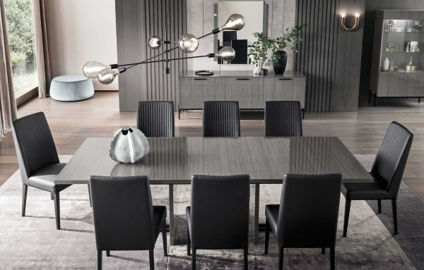 Alf Italia Novocento Pablo Dining Chairs at table