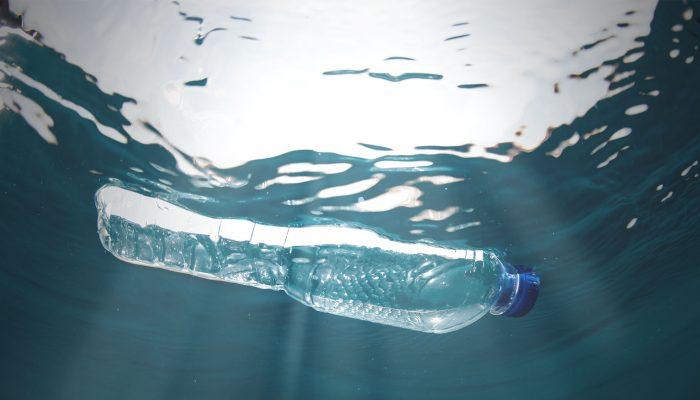 Bottle In Ocean Forever Fabric