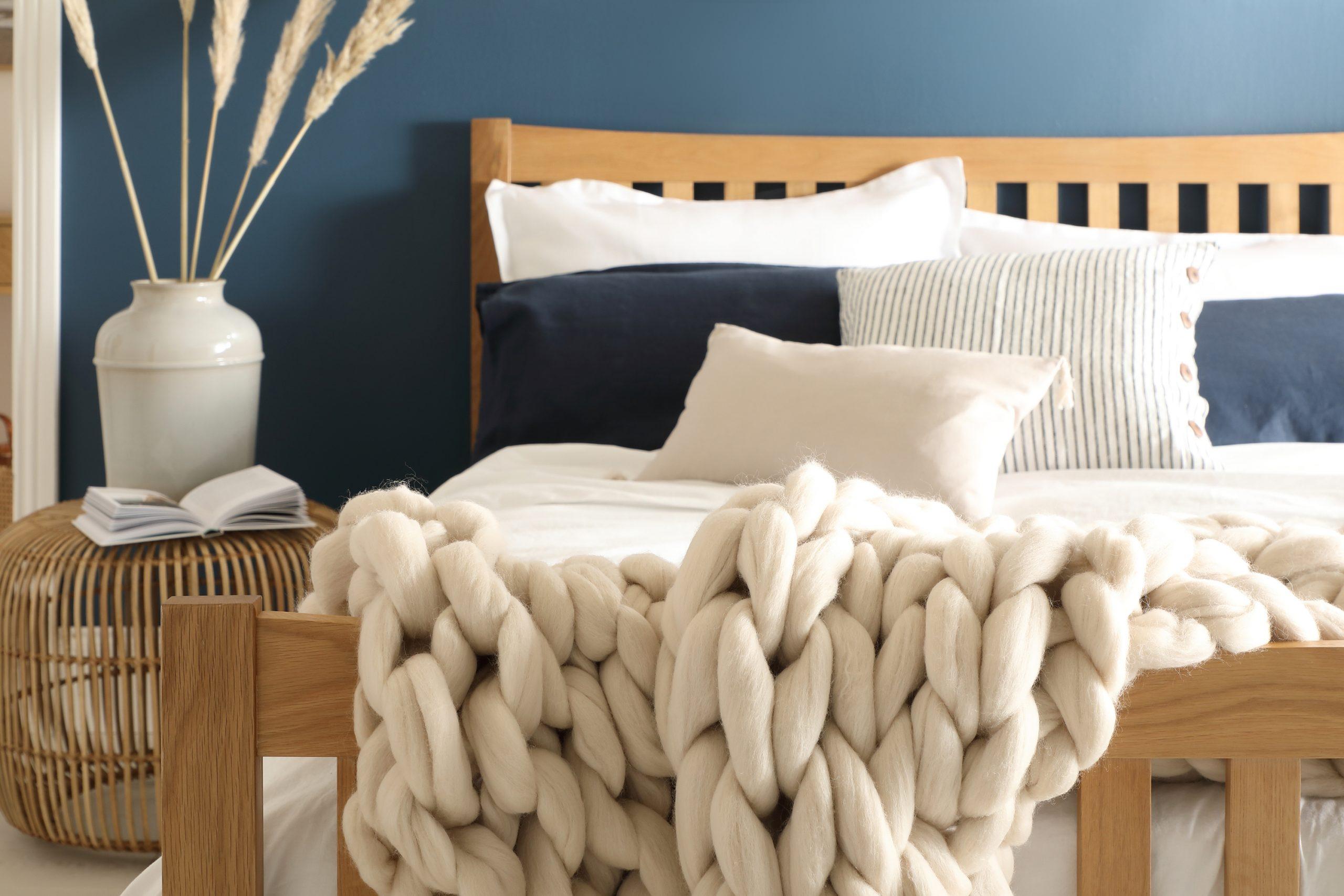 DIY Ideas Bergamo Bed Lifestyle Closeup