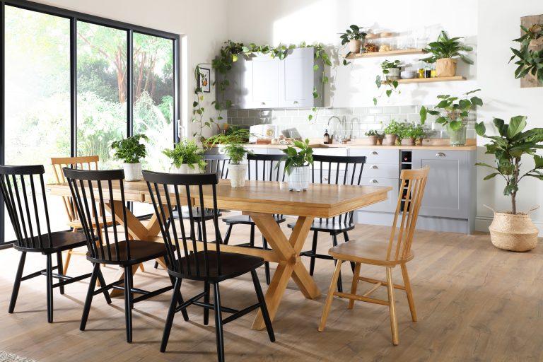 Fc Grange Oak Dining Set 2
