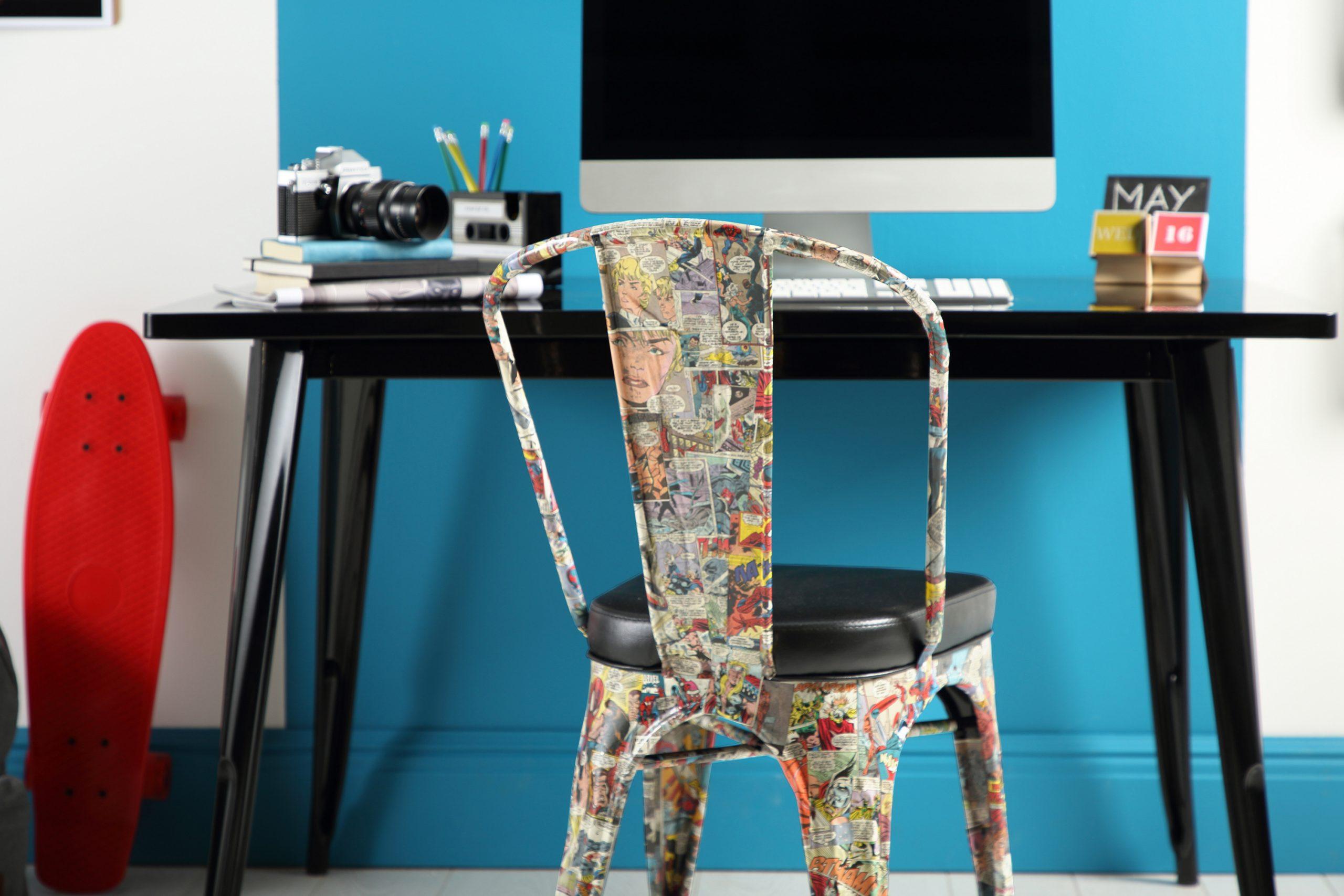 Comic book chair DIY Ideas
