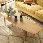 Julia Interior 3xlseater Malibu Velvet 10 Yellow Casual Coffee Table 150x50 Oak 7
