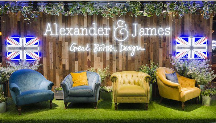 Alexander James Neon Sign 1