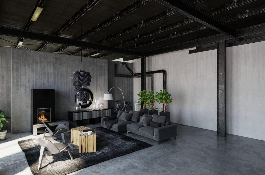 dark-grey-living-room