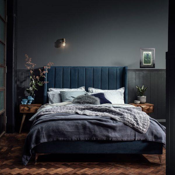 High Back Bed