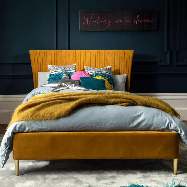 Pleated Bed